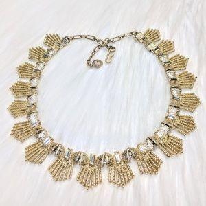 Jewelry - Gold & Rhinestone Choker